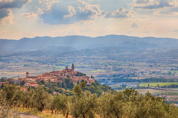 Italian hilltown Trevi