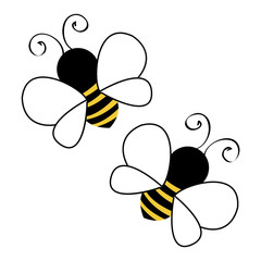 Two Bees background