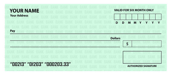 bank check template buy this stock vector and explore similar