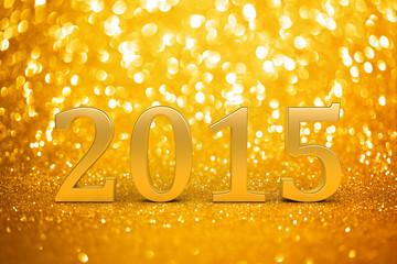 2015 New years glitter background