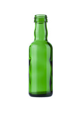 Mini empty green bottle whiskey 50ml