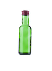Mini empty bottle whisky