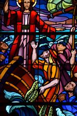 vitraux église de Noirmoutier