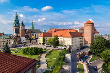 Poland, Wawel Cathedral Wall mural