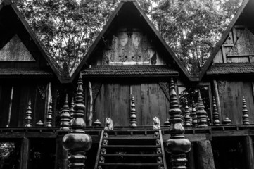 Black Temple (Baan Si Dum - Black House), Chiang Rai, Thailand