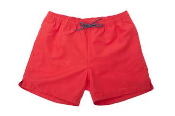 Red Sport shorts Fototapete