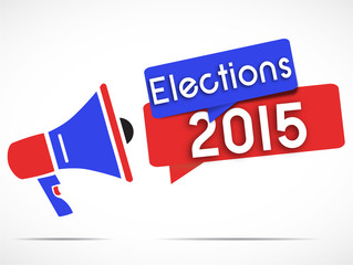 mégaphone : elections 2015
