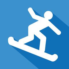 Logo ski. Snowboard.