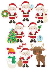 Small Santa Claus Collection