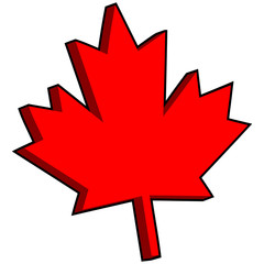 3D Maple Leaf