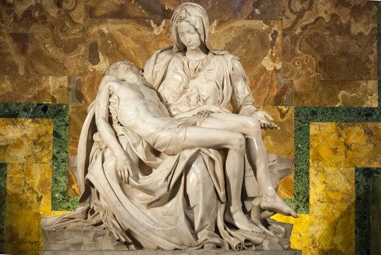 Michelangelo's Pieta in St. Peter's Cathedral II.