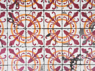Photo sur Plexiglas Tuiles Marocaines Chino Portuguese old tiles.