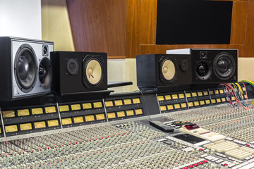 A professional studio for mixing and recording
