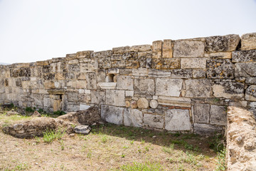 Hierapolis. City walls, built from more ancient fragments