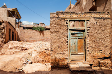The ancient city of Kashgar, China is a home to Uyghur  Tribe