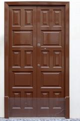 Alte Haustür auf Teneriffa