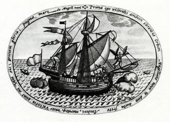 Victoria - Spanish carrack from Magellan's fleet