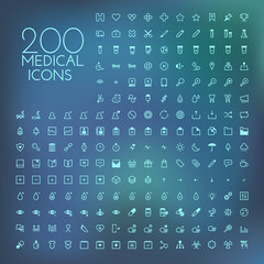 Healthcare & medical icon set