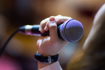 microphone Fotobehang