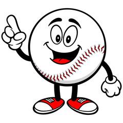 Baseball Mascot Talking