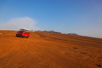 Four wheel drive excursion, Sao Nicolau island, Cape Verde