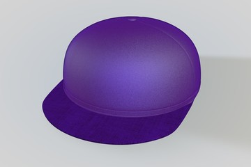 Purple Baseball Cap