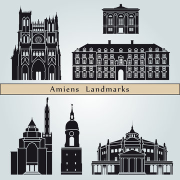 Amiens landmarks and monuments