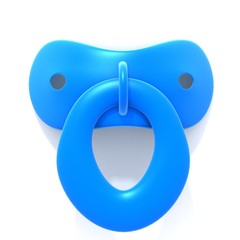 Pacifier 3d illustration