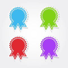 Medal Colorful Vector Icon Design