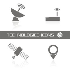 Technologies icons FB reflejo
