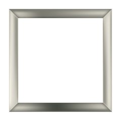 ..square metal frame