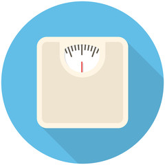 Bathroom scale icon