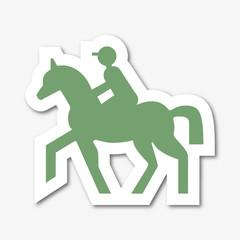 Logo cavalier.