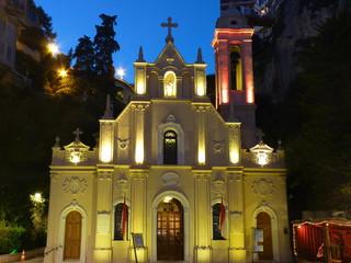 église Sainte-Dévote Monaco fête de noël