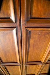 mozzate rusty brass brown knocker   door curch  closed metal wo