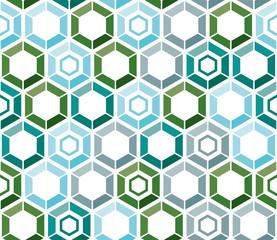 seamless pattern hexagon