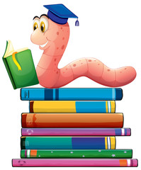 Book and worm