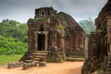 Hindu Temple at My Son, Vietnam built during Champa Kingdom