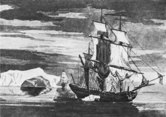Resolution and Adventure in Antarctica 1773