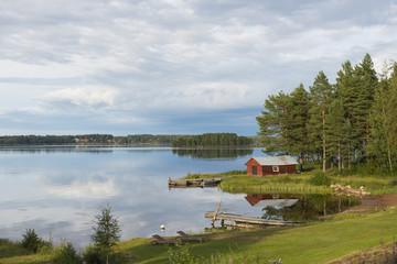 Swedish lakeside
