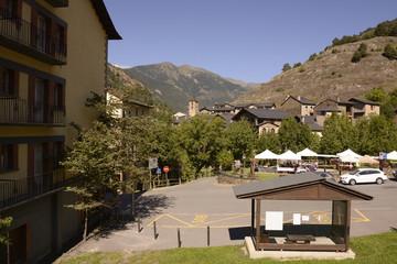 Road through Andorra