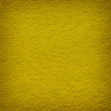 Yellow felt as background or texture