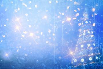 Art Christmas background card