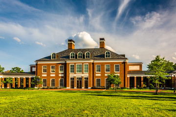 Mason Hall, at John Hopkins University in Baltimore, Maryland.