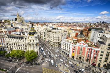 Madrid, Spain Cityscape