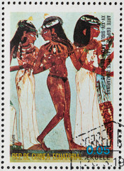 dancers of Egyptian art