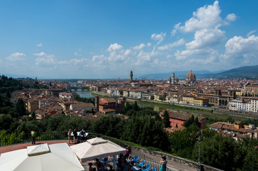 Panoramic view, Florence, Italy