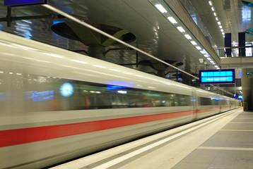Aluminium Prints Train Station train