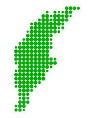 Karte von Gotland