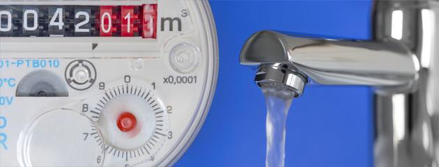 Wasseruhr & Wasserhahn